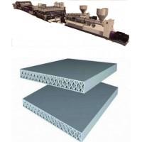 PP一模双出建筑模板生产线